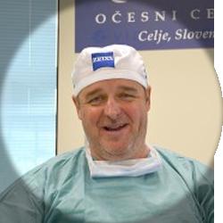 Boštjan Drev, dr. med., spec. oftalmologije